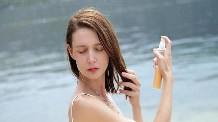 Can You Spray Sunscreen In Your Hair – Tips To Protect Your Locks