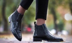 How To Wear Ankle Boots With Straight Leg Jeans